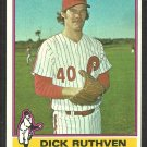 Philadelphia Phillies Dick Ruthven 1976 Topps Baseball Card # 431 vg/ex