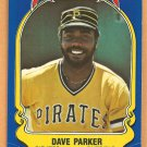 Pittsburgh Pirates Dave Parker 1981 Fleer Star Sticker Baseball Card # 24