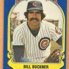 Chicago Cubs Bill Buckner 1981 Fleer Star Sticker Baseball Card # 29