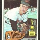 Baltimore Orioles Wally Bunker 1965 Topps Baseball Card # 290 vg/ex