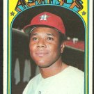 Houston Astros Bob Watson 1972 Topps Baseball Card # 355 vg/ex