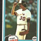 Baltimore Orioles Denny Martinez 1981 Topps Baseball Card # 367 nr mt