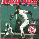 TORONTO BLUE JAYS @ BOSTON RED SOX 1991 FENWAY PARK PROGRAM W/ TED WILLIAMS