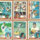 1983 Topps Texas Rangers Team Lot 19 Buddy Bell Bucky Dent Charlie Hough Jon Matlack Larry Parrish