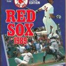 1989 Boston Red Sox Fenway Park Program vs Detroit Tigers Fred Lynn Ellis Burks Nick Esasky HR