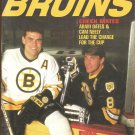 1993 Boston Bruins Yearbook Adam Oates Cam Neely Ray Bourque Cover Photos
