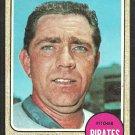 Pittsburgh Pirates Ron Kline 1968 Topps Baseball Card # 446 good