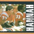 New England Patriots John Hannah 1985 Topps Football Card # 326 nr mt