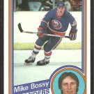 1984 Topps Hockey Card # 91 New York Islanders Mike Bossy nr mt