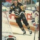 Pittsburgh Penguins Mario Lemieux 1992 Topps Stadium Club Hockey Card # 94