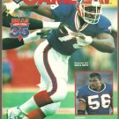 1994 NFL Game Day Program Buffalo Bills New England Patriots Bruce Smith Cover Photo