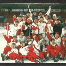 World Junior Champions Team Canada 1992 Upper Deck Hockey Card Insert # sp3