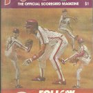 1985 Philadelphia Phillies  Program