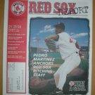 1998 Boston Red Sox Report Pedro Martinez Cover Photo