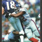 New York Giants Michael Strahan 2002 Sports Illustrated For Kids Football Card # 123