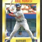 Los Angeles Dodgers Raul Mondesi 1995 Sports Illustrated For Kids Baseball Card # 362