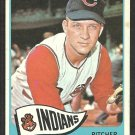 Cleveland Indians Lee Stange 1965 Topps Baseball Card # 448 ex