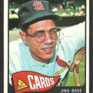 St Louis Cardinals Julian Javier 1965 Topps Baseball Card # 447 ex/em