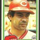 Cincinnati Reds Cesar Geronimo 1981 Topps Baseball Card # 390 nr mt