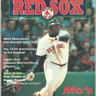 Boston Red Sox 1994 Fenway Park Program Detroit Tigers Mo Vaughn Cover Danny Darwin Poster