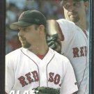 2005 Boston Red Sox Pocket Schedule Alan Embree Papa Ginos