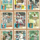 1984 Topps Baltimore Orioles Team Lot Eddie Murray Jim Palmer Al Bumbry Mike Flanagan Rick Dempsey