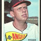 Los Angeles Angels Don Lee 1965 Topps Baseball Card # 595 vg
