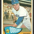 LOS ANGELES DODGERS RON PERRANOSKI 1965 TOPPS # 484 EM/NM