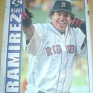 Boston Red Sox Manny Ramirez 2004 Newspaper Poster