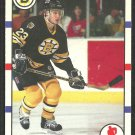 Boston Bruins Craig Janney 1990 Score Hockey Card # 118