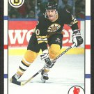 Boston Bruins Bob Sweeney 1990 Score Hockey Card # 235
