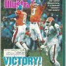 87 Sports Illustrated Denver Broncos Detroit Pistons Washington Redskins Norris Division NHL Hockey