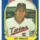 Minnesota Twins Roy Smalley 1981 Fleer Star Sticker Baseball Card # 55