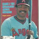 1982 Sports Illustrated California Angels Reggie Jackson Alabama Crimson Tide SEC George Allen