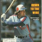 1980 Sports Illustrated Montreal Expos Gary Carter Washington Redskins Joe Theismann Marvin Hagler