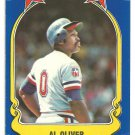 Texas Rangers Al Oliver 1981 Fleer Star Sticker Baseball Card # 64