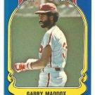Philadelphia Phillies Garry Maddox 1981 Fleer Star Sticker Baseball Card # 70