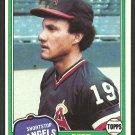 California Angels Bert Campaneris 1981 Topps Baseball Card # 410 nr mt