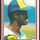 Milwaukee Brewers Ben Oglivie 1981 Topps Baseball Card # 415 nr mt