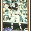 Cleveland Indians Gary Alexander 1981 Topps Baseball Card # 416 ex/nm