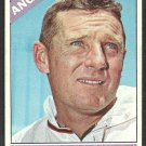 Los Angeles Angels Jack Sanford 1966 Topps Baseball Card # 23 vg