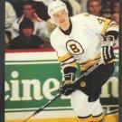 Boston Bruins Bob Sweeney ca 1980s Postcard # 42