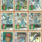 1984 Topps Minnesota Twins Team Lot Gary Gaetti John Castino Tom Brunansky Mickey Hatcher Laudner