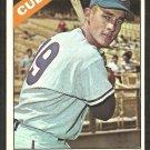 Chicago Cubs Jim Stewart 1966 Topps Baseball Card # 63 ex