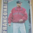 Boston Red Sox Terry Francona 2004 Newspaper Poster