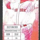 Kansas City Royals Boston Red Sox 2015 Ticket Salvador Perez Mookie Betts Alex Rios Xander Bogaerts