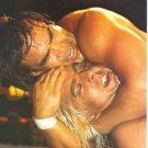 Rick Steamboat vs Ric Flair 1986 Pro Wrestling Pinup Photo