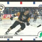Pittsburgh Penguins Kevin Stevens Rookie Card RC 1990 Score Hockey Card # 53