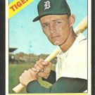 Detroit Tigers Ray Oyler 1966 Topps Baseball Card # 81 vg