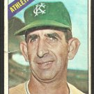 Kansas City Athletics Don Mossi 1966 Topps Baseball Card # 74 fair